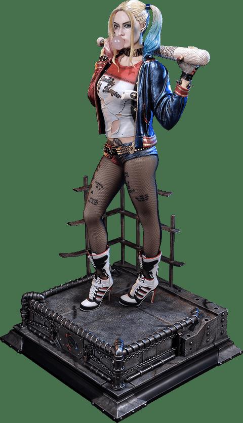 Estátua Arlequina (Harley Quinn): Esquadrão Suicida (Suicide Squad) Escala 1/3 - Prime 1 Studio