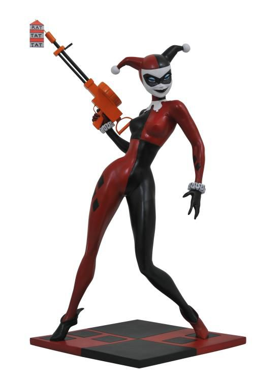 Estátua Arlequina (Harley Quinn Premier Collection): Batman The Animated Series - Diamond Select