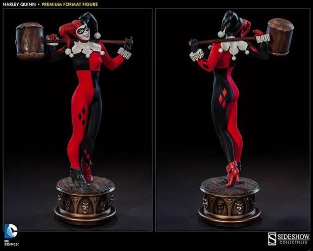 Estátua Arlequina Harley Quinn Premium Format DC Comics Escala 1/3 - Sideshow Collectibles