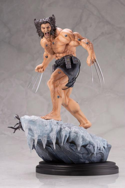 Estátua Arma X (Wolverine Weapon X): X-Men Marvel Comics Fine Art - Kotobukiya (Apenas Venda Online)