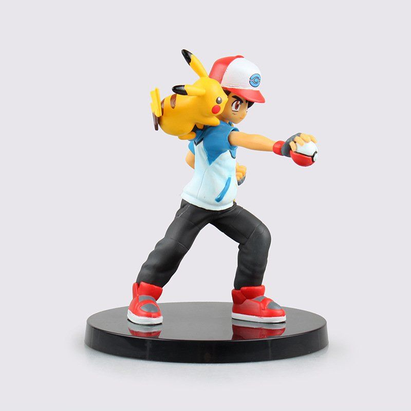 Estátua Ash e Pikachu: Pokémon