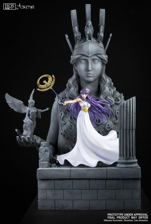 Pré Venda: Estátua Athena: Os Cavaleiros dos Zodíacos (Saint Seiya) Edição Limitada -  Tsume