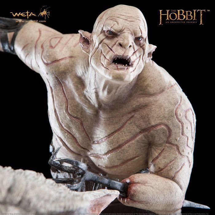 Estátua Azog: O Hobbit: Uma Jornada Inesperada Escala 1/6 - WETA - CD