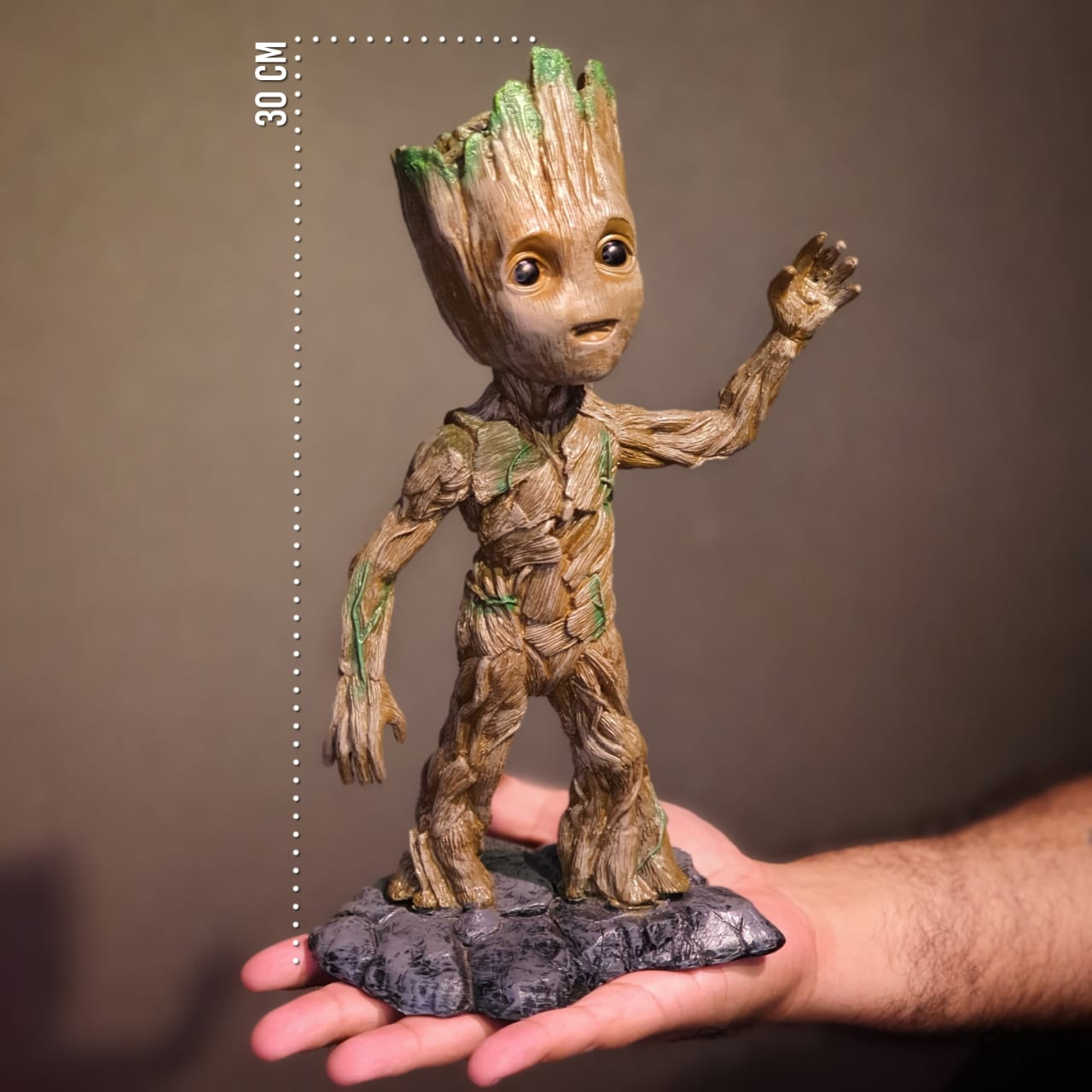 Estátua Baby Groot: Guardiões da Galáxia Vol. 2 (Guardians of the Galaxy Vol. 2) - Marvel -wars