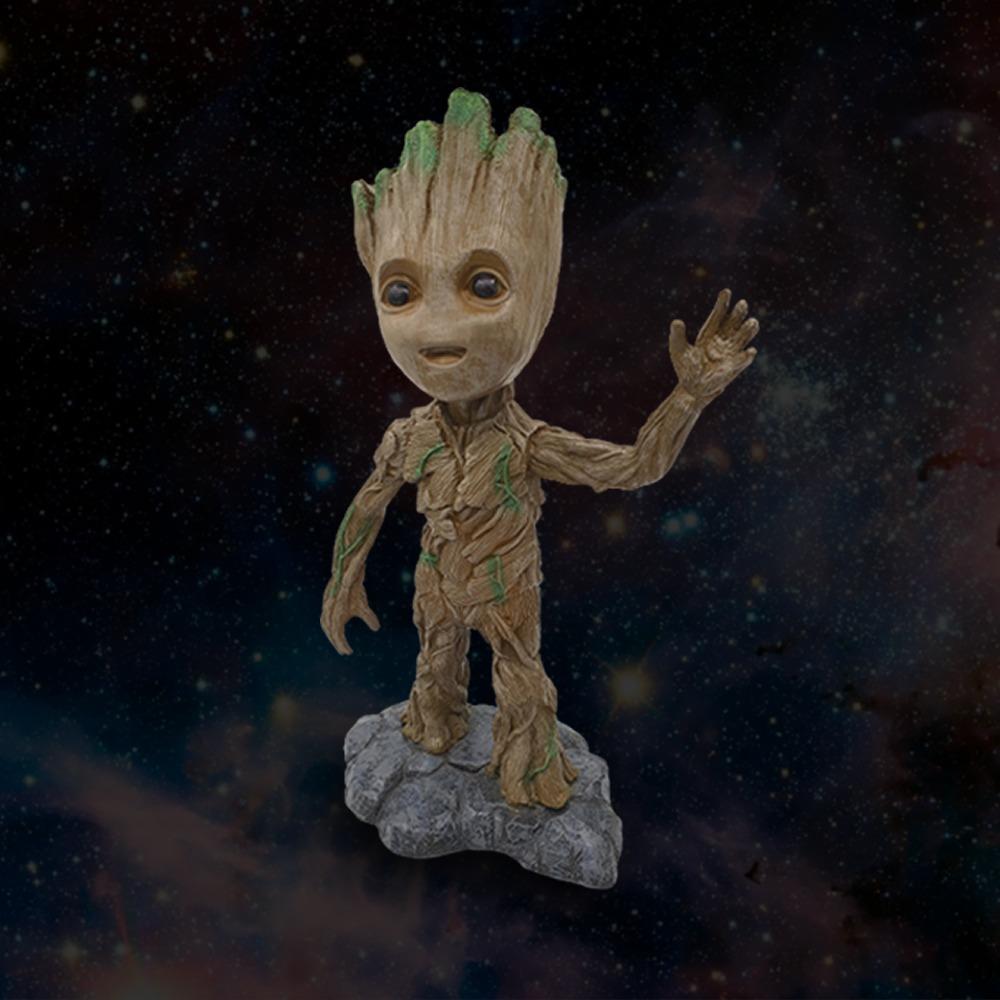 Estátua Baby Groot: Guardiões da Galáxia Vol. 2 (Guardians of the Galaxy Vol. 2) - Marvel -wars