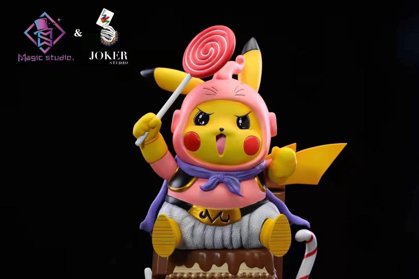 Estátua Baby Majin Boo Pikachu