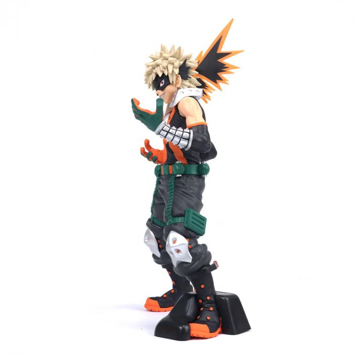 Estátua Bakugo Katsuki Texture Boku No Hero Academy My Hero Academia - Banpresto Bandai