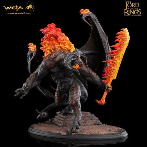 Estátua Balrog Demon of Shadow & Flame: O Senhor dos Anéis - WETA - CD