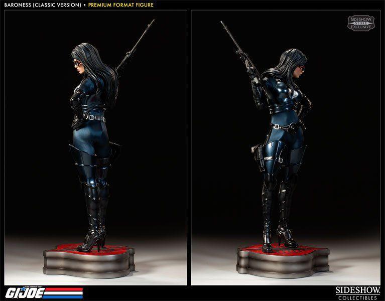 Estátua Baronesa (Baroness): G.I. Joe Classic (Premium Format) Escala 1/4 - Sideshow (Apenas Venda Online)