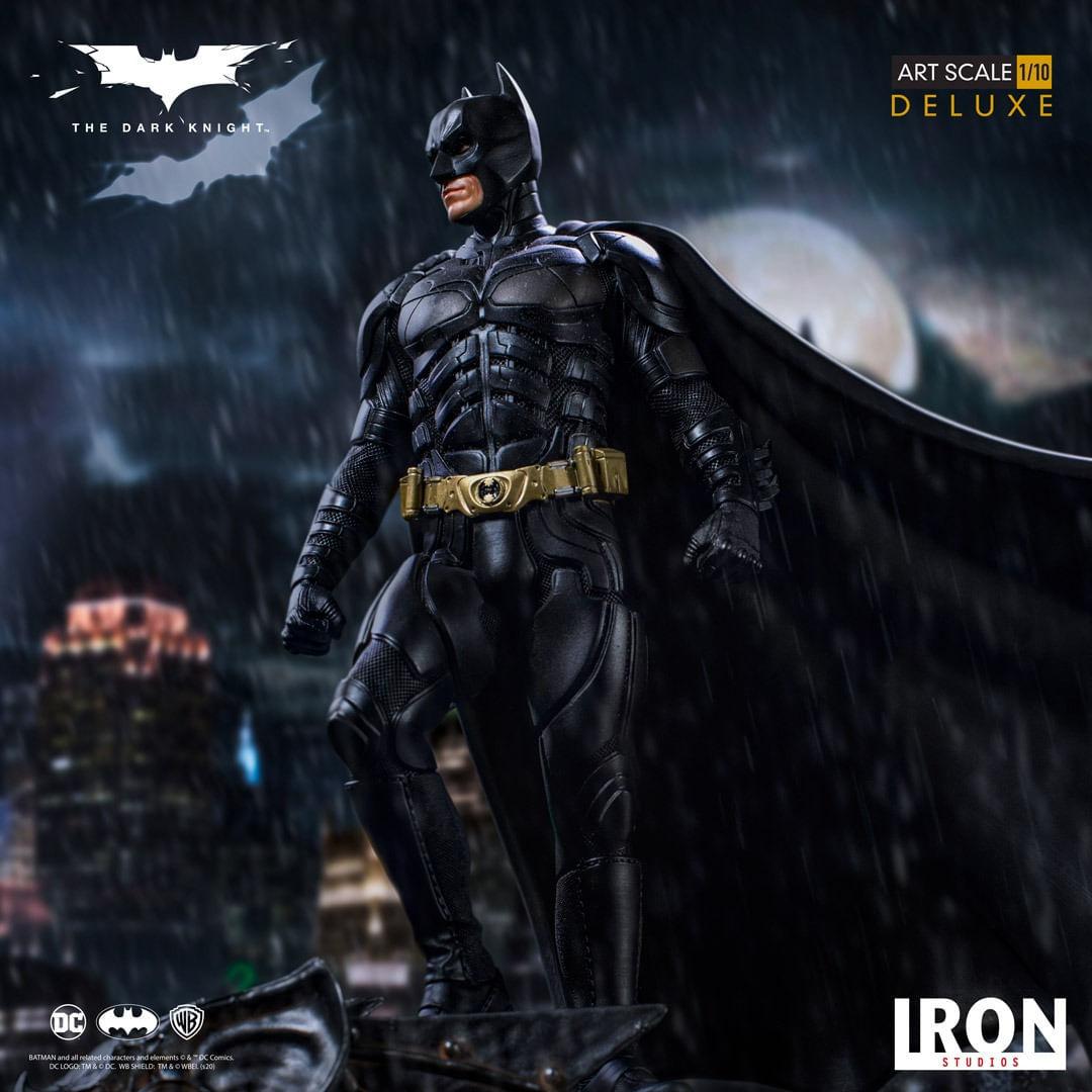 Estátua Batman: Batman The Dark Knight O Cavaleiro Das Trevas Art Escala 1/10 Deluxe DC Comics - Iron Studios