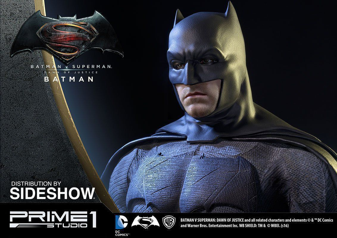 Estátua Batman: Batman vs Superman: A Origem da Justiça Escala 1/2 - Prime 1 Studio - CD