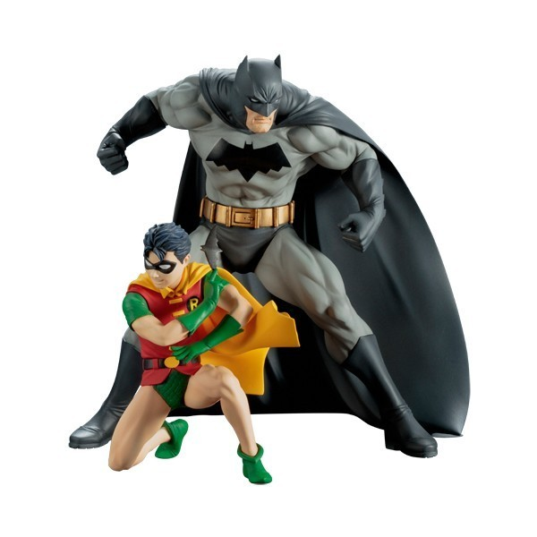 Estátua Batman & Robin ArtFX+ Statue Escala 1/10 - Kotobukiya
