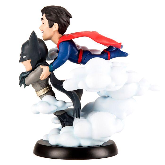 Estátua Batman e Super-Homem (Batman & Superman) (Worlds Finest): Dc Comics (Q-Fig) - Quantum Mechanix