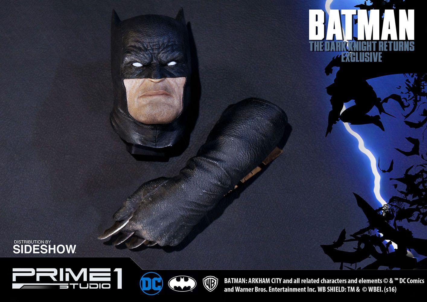 Estátua Batman (Exclusivo): Batman O Cavaleiro das Trevas (The Dark Knight Returns) 1/3 - Prime 1 Studios