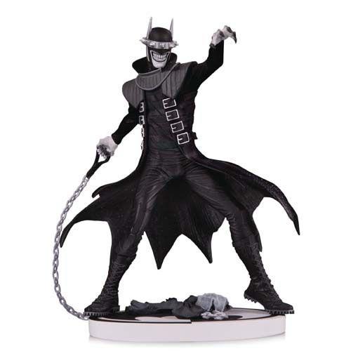 Estátua Batman Que Ri (Who Laughs) Black and White 2ª Ed. (Ray Villafane) Dc Comics (Limited Edition) - DC Collectibles