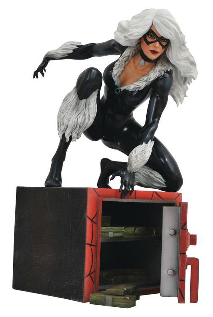 Estátua Black Cat (Diorama): Marvel Comics Gallery - Diamond Select