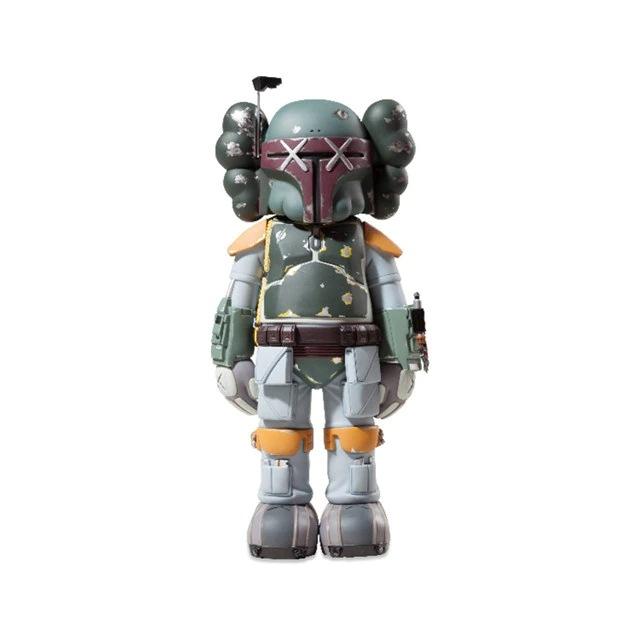 Estátua Boba Fett: Star Wars Guerra Nas Estrelas X Kaws Louis Vuitton Edition 28 cm Disney - MKP