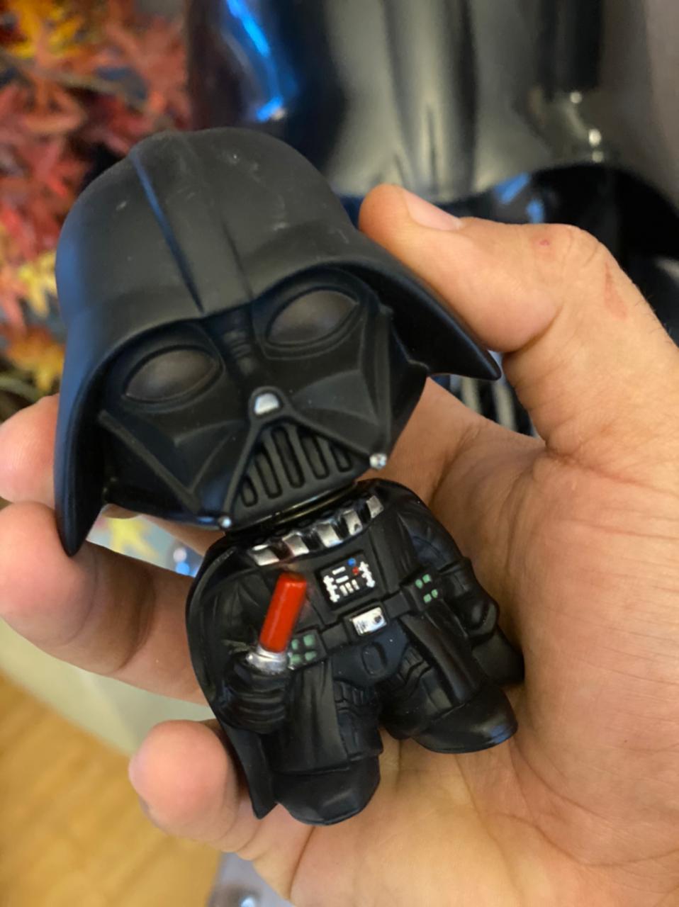 Estátua Bobblehead Darth Vader: Disney Star Wars - EV
