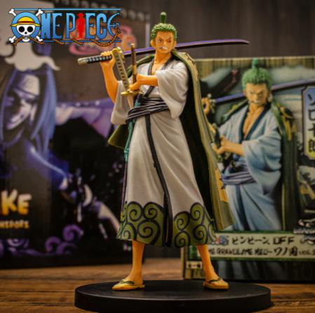 Estátua Boneco Colecionável Roronoa Zoro: One Piece Anime Mangá - EVALI
