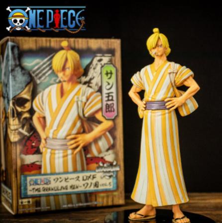 Estátua Boneco Colecionável Sanji: One Piece Anime Mangá - EVALI