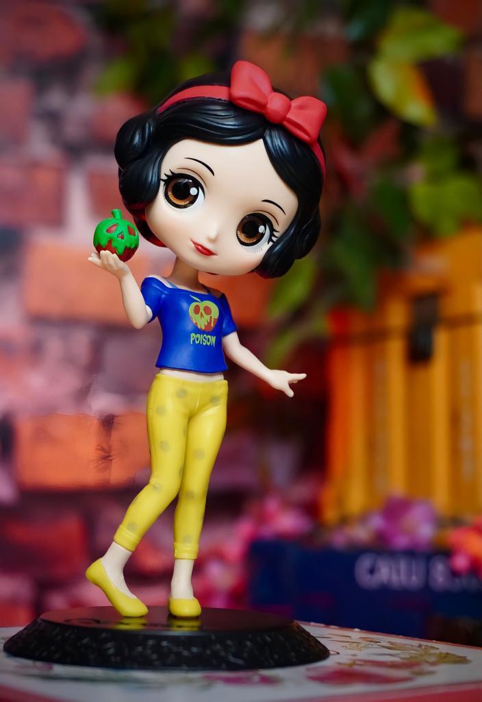 Estátua Princesa Branca De Neve Snow White: Detona Ralph 2 Quebrando A Internet Ralph Breaks The Internet Avatar Style QPosket Disney - Banpresto