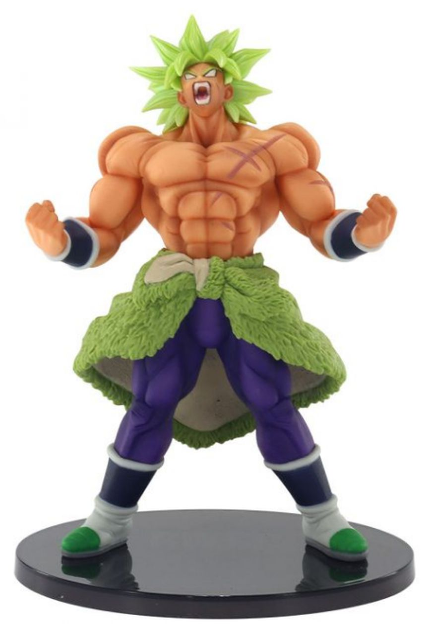 Estátua Broly (Special Broly): Dragon Ball Super (World Figure Colosseum 2) - Anime Mangá Banpresto Bandai