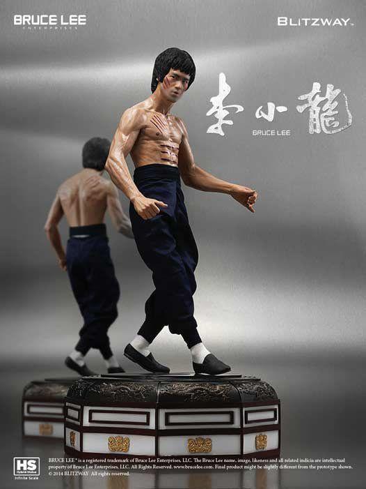 Estátua Bruce Lee: Tribute Version 2 Escala 1/3 - Blitzway - CD