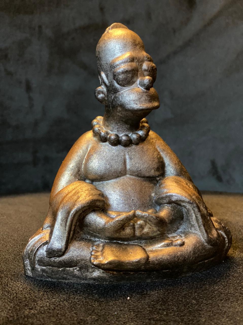 Estátua Buda Homer: Os Simpsons