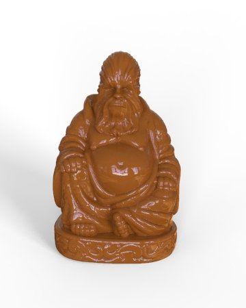 Estátua Buda Pop Chewbacca (Marrom)