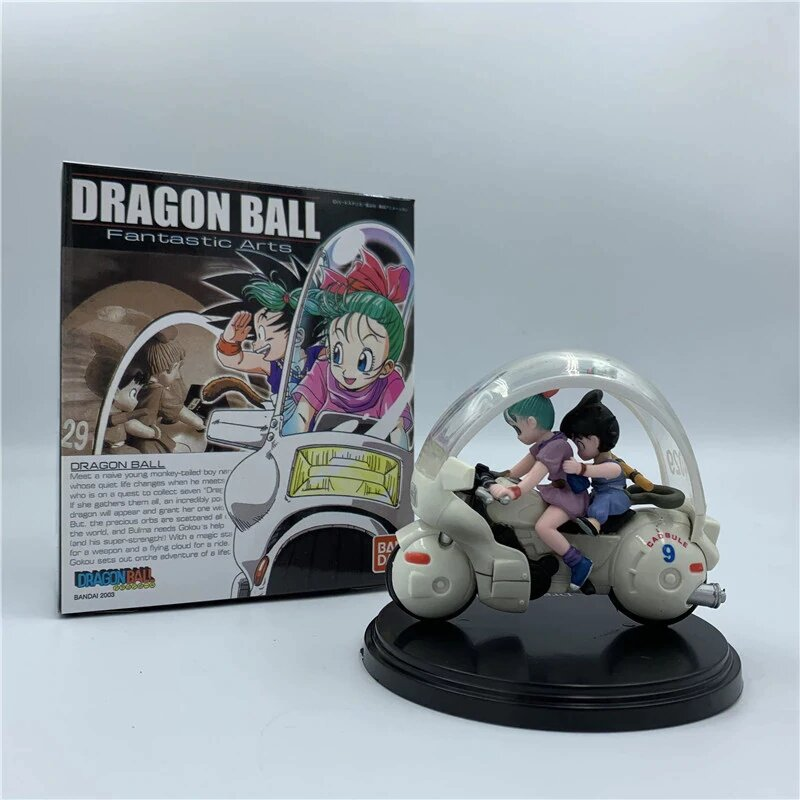 Estátua Bulma e Son Goku: Dragon Ball - Fantastic Arts
