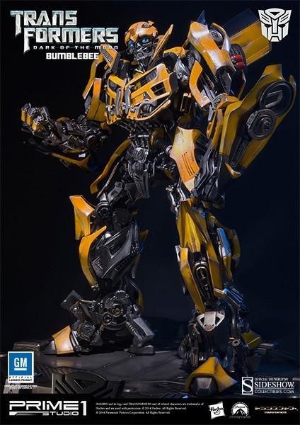 Estátua Bumblebee: Transformers: O Lado Oculto da Lua - Prime 1 Studio - CD