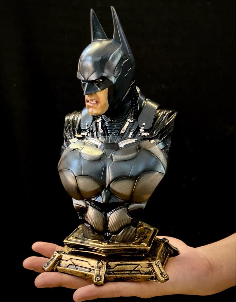 Estátua Busto Batman: Batman Arkham Knight - DC Comics - EV