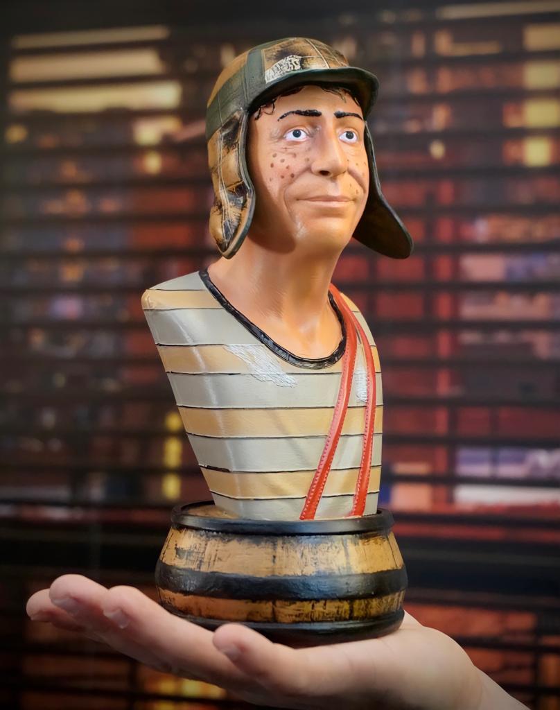 Estátua Busto Chaves: El Chavo Del Ocho  Escala 1/4 Prime Edition - Fanatic Studios