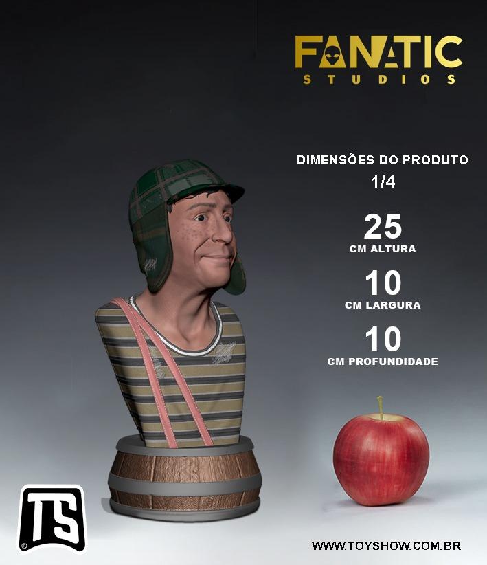 Estátua Busto Chaves: El Chavo Del Ocho  Escala 1/4 Prime Edition - Fanatic Studios - EV