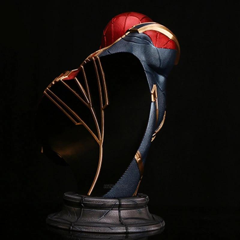 Estátua Busto Homem Aranha Spider-Man Aranha de Ferro Iron Spider Avengers Infinity War Vingadores Guerra Infinita Marvel Comics - EVALI