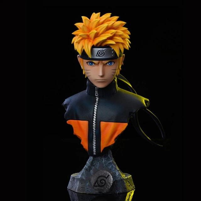 Estátua Busto Naruto Uzumaki: Naruto Shippuden - MKP