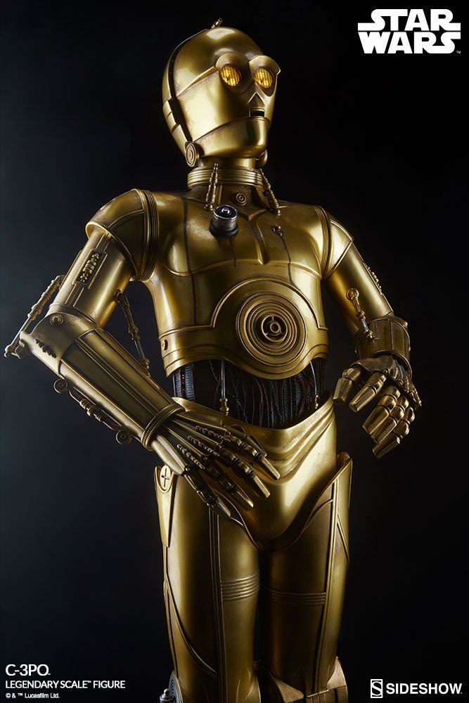 Estátua C-3PO: Star Wars (Legendary Scale) Escala 1/2 - Sideshow - CD