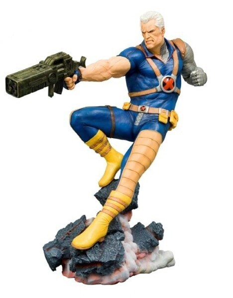 Estátua Cable Classic: X-Men Fine Art Statue - Kotobukiya
