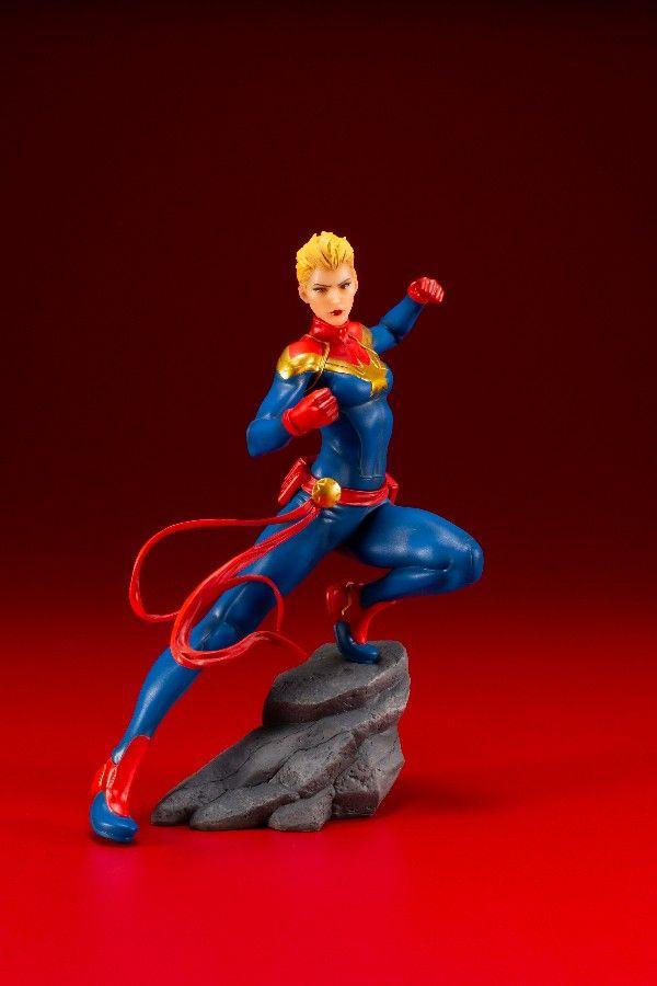 Estátua Capitã Marvel (Captain Marvel): Marvel (ArtFX+) - Kotobukiya