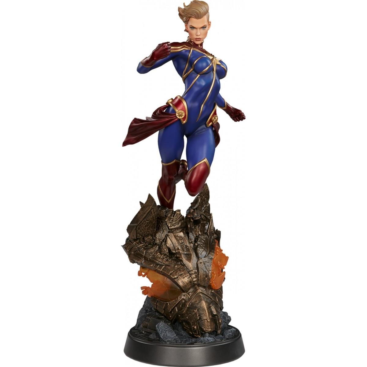 Estátua Capitã Marvel (Captain Marvel): Premium Format Statue - Sideshow