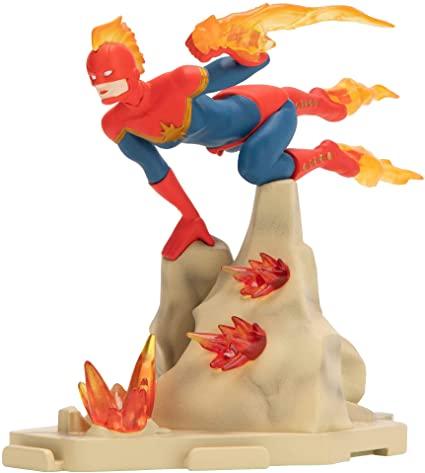 Estátua Capitã Marvel: Marvel Vingadores - Sunny