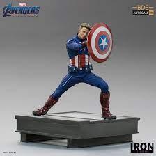 Estátua Capitão América 2023 Vingadores Ultimato Avengers Andgame Marvel Escala 1/10 - Irons Studios