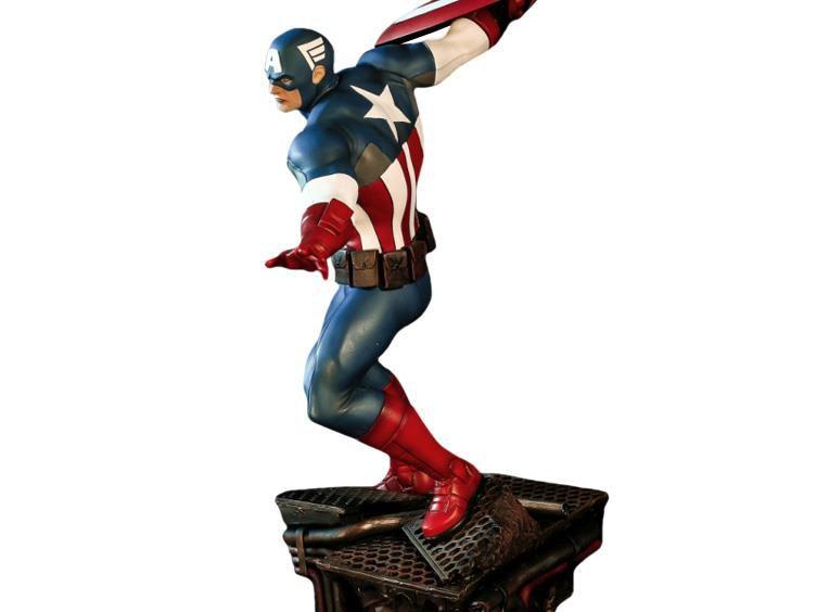 Estátua Capitão América: Avengers Assemble (Escala 1/6) Marvel Comics - XM-Studios (Apenas Venda Online)