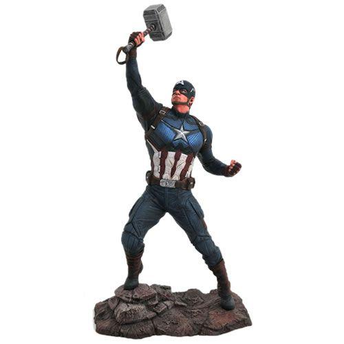 Estátua Capitão América (Captain America): Vingadores Ultimato (Avengers Endgame) Marvel Gallery - Diamond Select Toys (Apenas Venda Online)