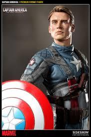 Estátua Capitão America O primeiro Vingador (The First Avenger Captain America) Premium Format Marvel  - Sideshow
