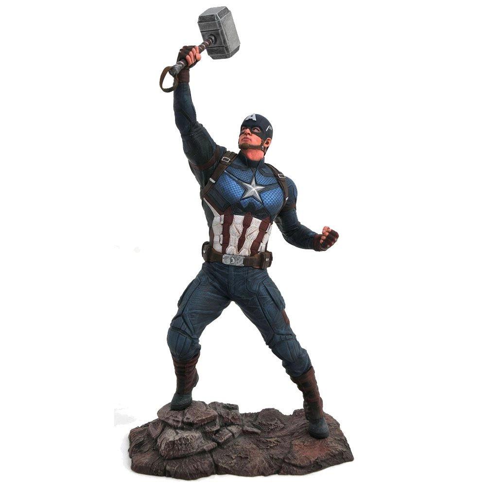 Estátua Capitão América: Vingadores Endgame (Marvel Gallery) - Diamond Toys