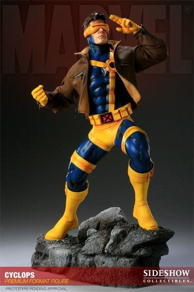Estátua Ciclope Cyclops X-Men Marvel Comics Escala 1/4 Premium Format -  Sideshow Collectibles - CD