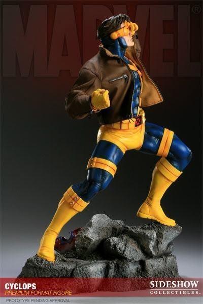 Estátua Ciclope Cyclops X-Men Marvel Comics Escala 1/4 Premium Format -  Sideshow Collectibles - CD