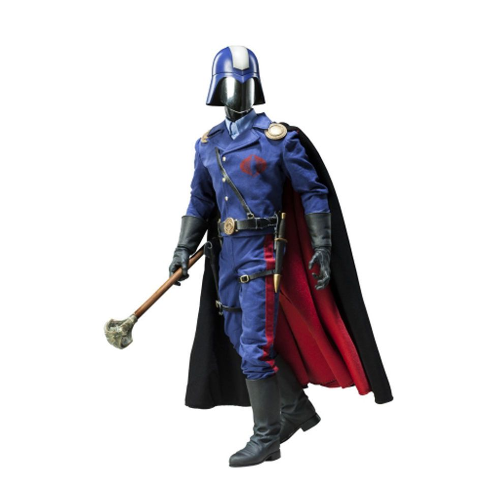 Boneco Cobra Commander: G.I Joe (Escala1/6) - Sideshow Collectibles (Apenas Venda Online)
