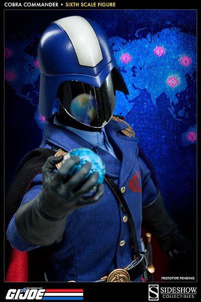 Boneco Cobra Commander: G.I Joe (Escala1/6) - Sideshow Collectibles (Apenas Venda Online)